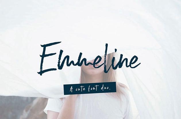 EMMELINE - Free Signature Script Font