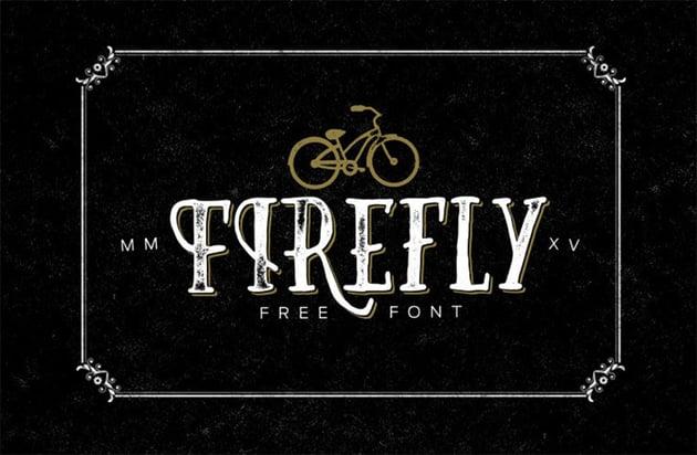 FREE Font Firefly 2015