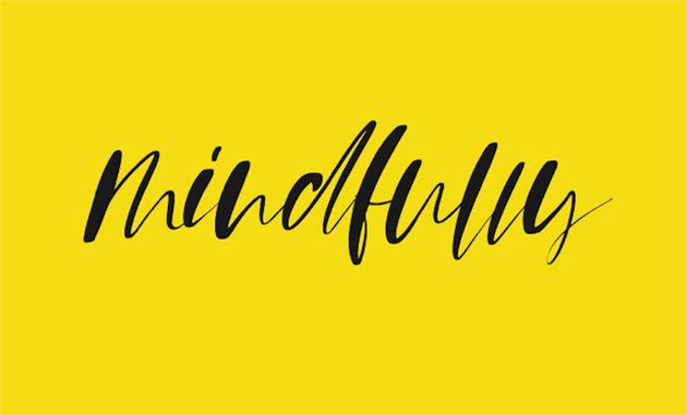 MINDFULLY - FREE FONT