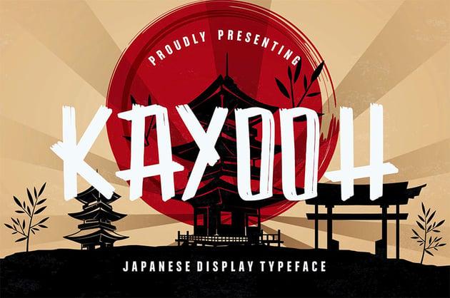 Kayooh Japanese Writing Style