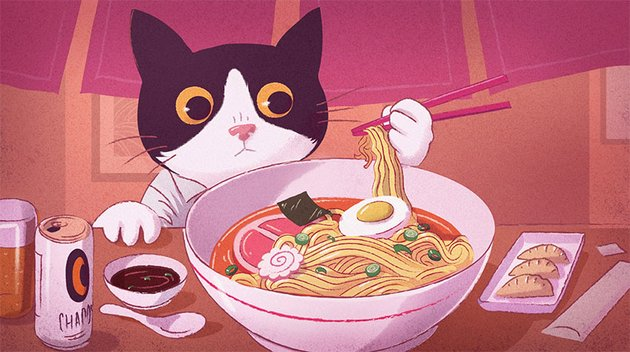 Japanese Themed Illustrations