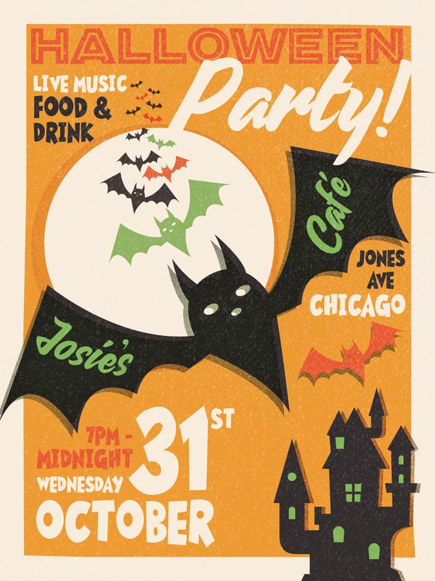 How to Create a Vintage Halloween Poster in Adobe InDesign