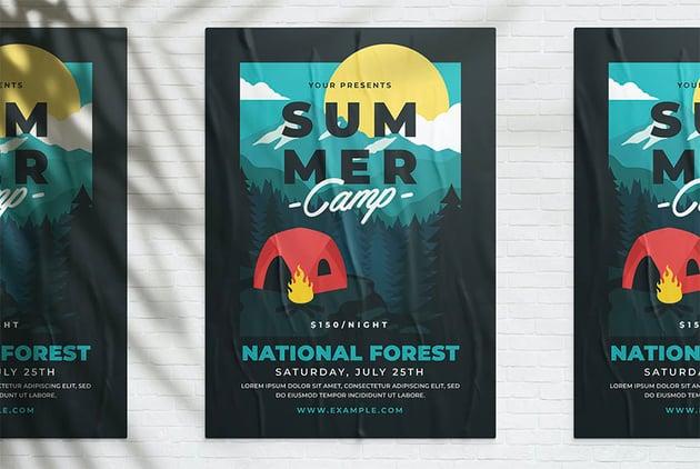 Summer Poster Design Idea