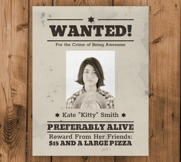 How to Create a Wanted Poster