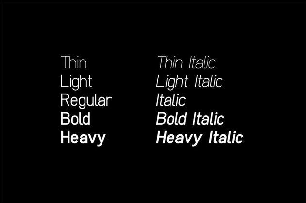 Clarity Nuvo font