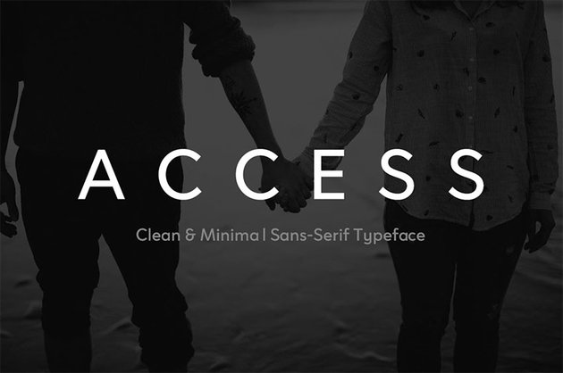 ACCESS typeface