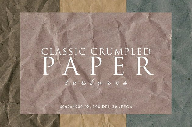 Crumpled Paper Texture Photoshop