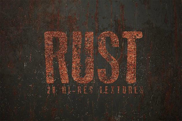 Rust Photoshop Textures
