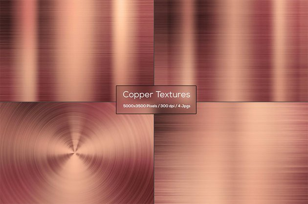 Copper Metal Texture Photoshop
