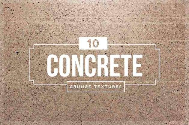 10 Concrete Distressed Texture Photoshop