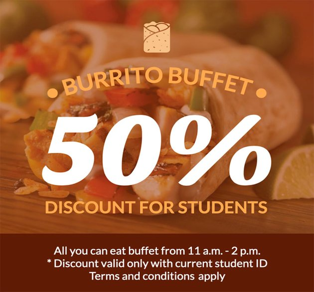 Student Coupon Template