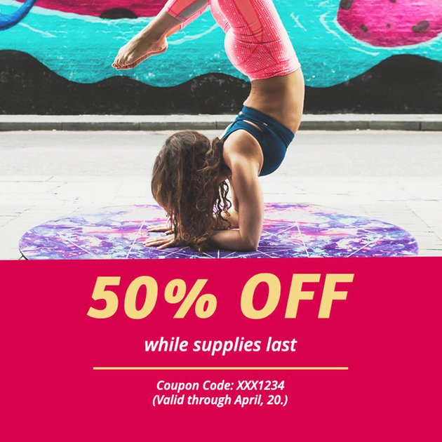 Coupon Creator for Yoga Classes