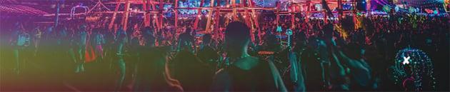 SoundCloud Header Size Template Featuring Concert