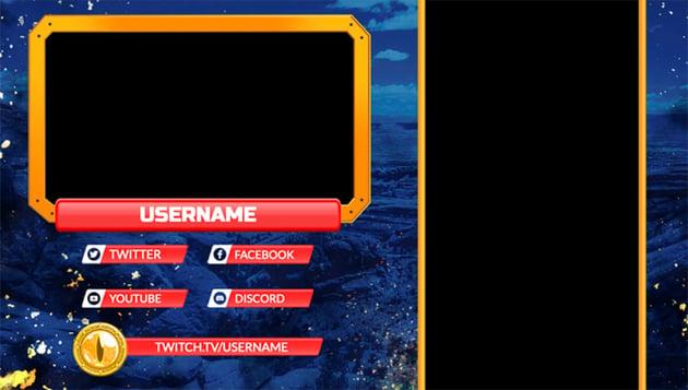 Twitch Webcam Overlay Maker for Vertical Games