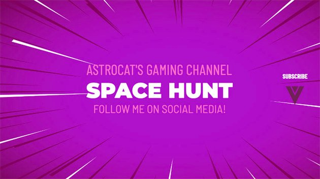 Video Game YouTube Banner Inspired by Fortnite