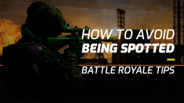Gaming Thumbnail for YouTube with Battle Royale Gameplay