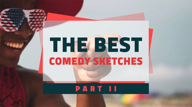 YouTube Thumbnail Online Maker for a Comedy Sketch Compilation