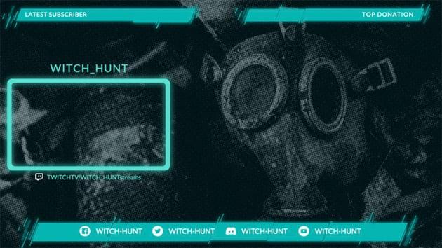 Twitch Webcam Frame Overlay