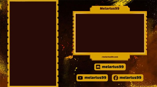 Twitch Webcam Overlay PNG