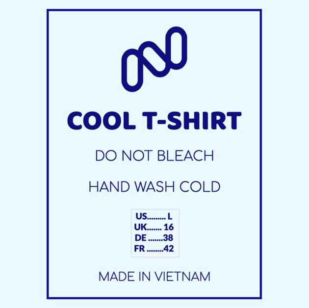 Create Your own T-shirt Label