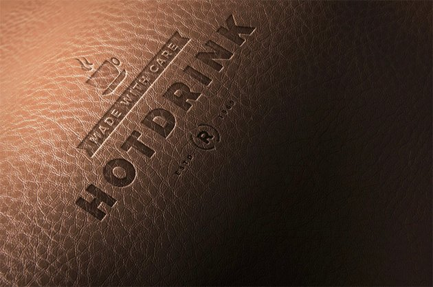 Leather Logo Mockups