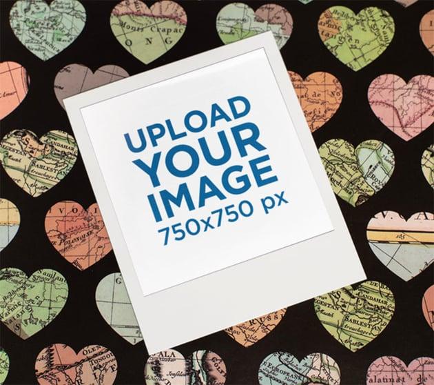 Polaroid Frame Template
