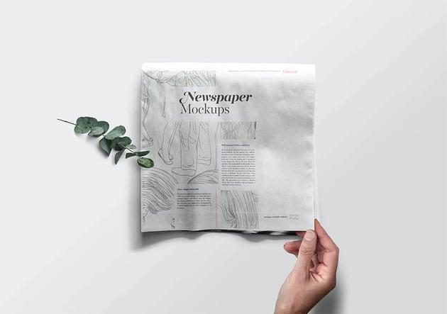 Newspaper Template PSD