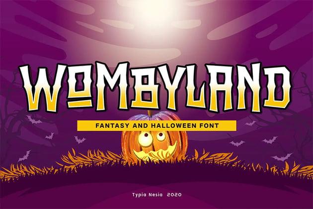 Wombyland Fantasy Font Online