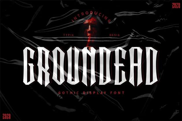 Groundead Fantasy Font Online