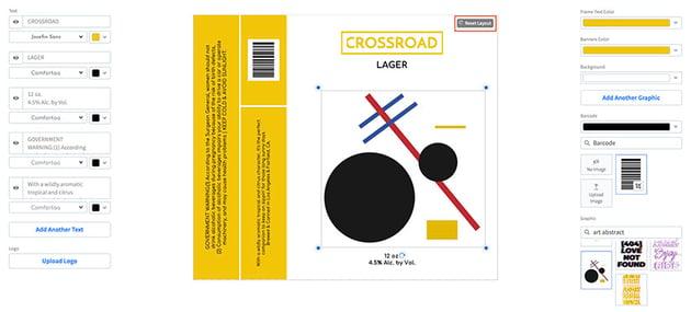 Re-organise Label Elements