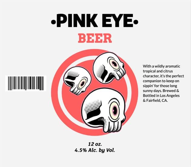Beer Label Design for Pale Ale Brews