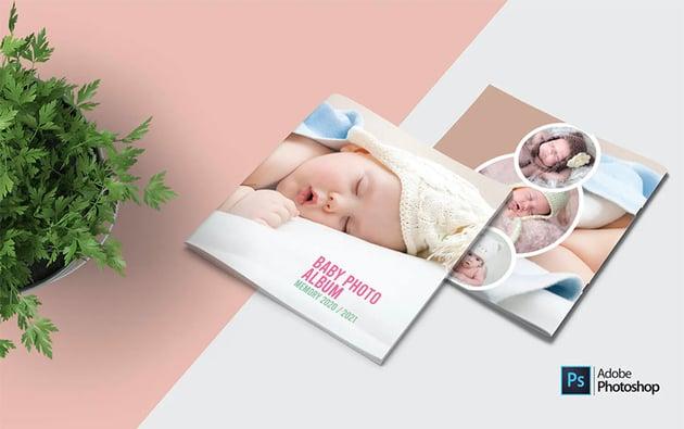 Photo Album Design Templates PSD