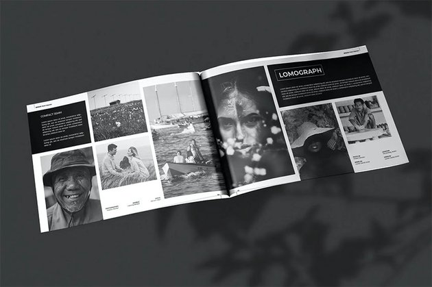 InDesign Photo Book Layout Templates