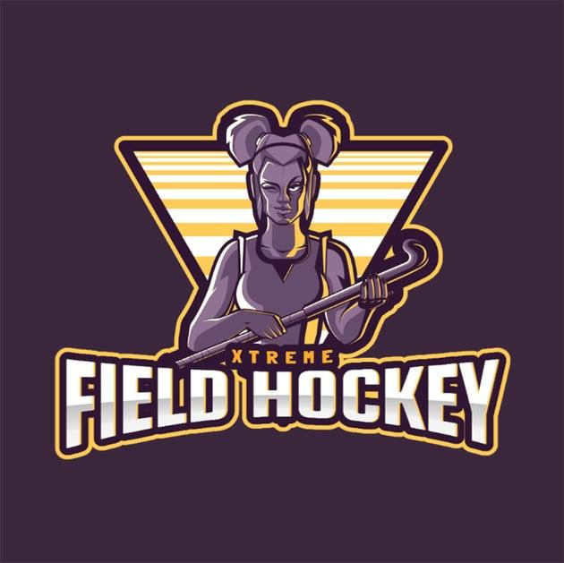 Logo Maker for a Field Hockey Women's Team