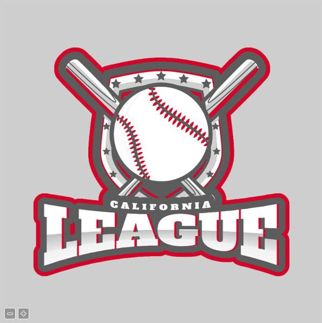 Baseball League Logo Maker