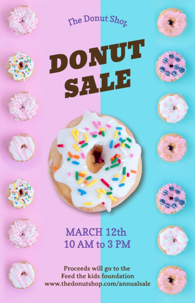 Food Sale Flyer Template