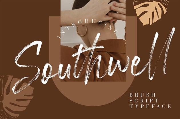 Southewell Brush Script Font