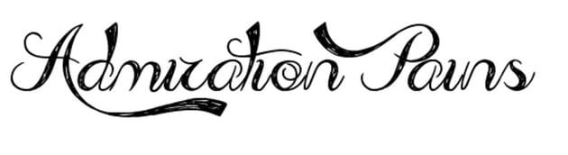 Admiration Pains Brush Font (Free)