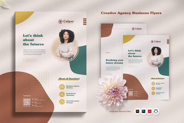 Digital Creative Agency Flyer