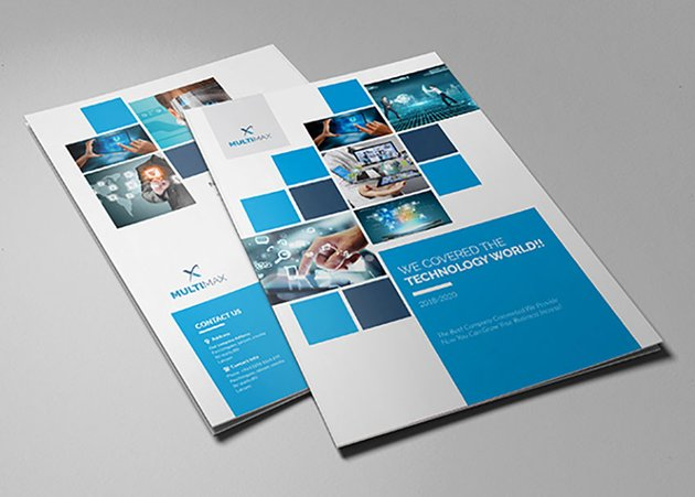 Technology Bi-Fold Brochure