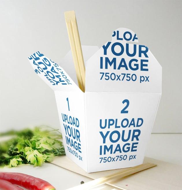 Food Packaging Mockup