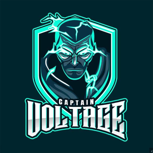 Voltage Easy Gaming Logo Maker