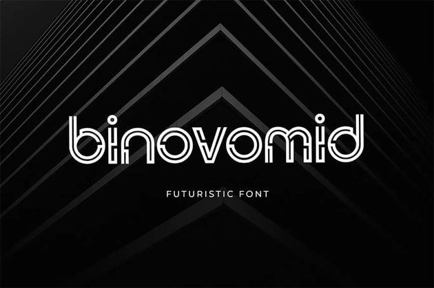 Binovomid Rounded Sans Serif Font