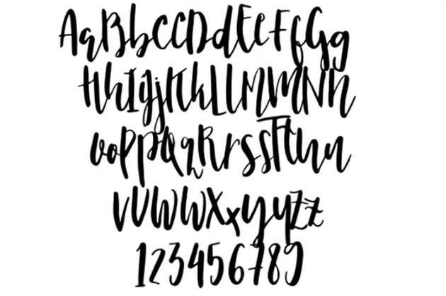 Nicoline Free Wedding Calligraphy Font