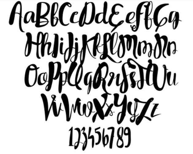Tycho Regular Free Wedding Font for Photoshop