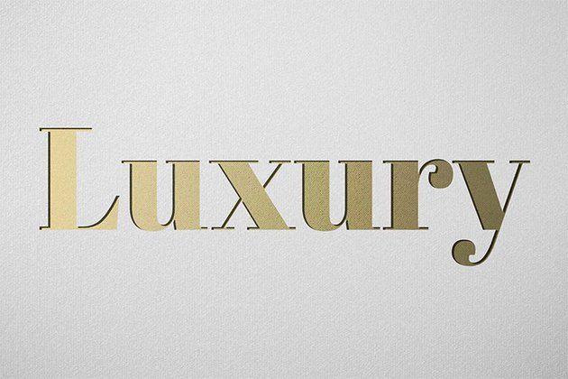 Luxury - Gold Text Photoshop Style