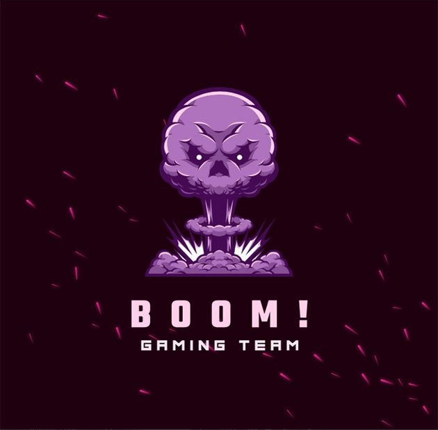 Free Twitch Logo Maker with a Graphic of an Explosion
