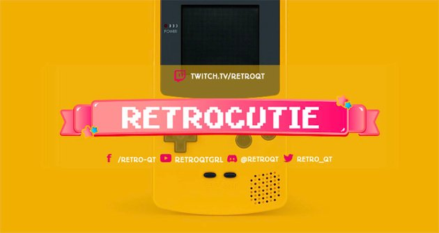 Free Twitch Banner Generator for a Retro Gamer with an 8-Bit Aesthetic