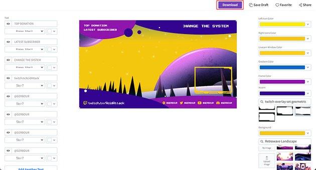 Cool Webcam Border