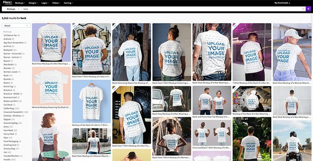 How to Make a White T-Shirt Mockup Quickly & Easily
